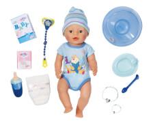 Zapf BABY born® Interactive Boy, ab 3 Jahren, mehrfarbig