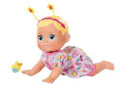 Zapf 825884 BABY born® Funny Faces Krabbelbaby