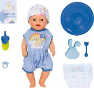 Zapf 827338 BABY born Soft Touch Little Boy 36 cm