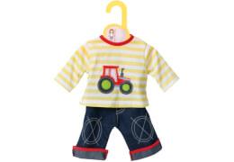 Zapf BABY born® Kleider Kollektion Dolly Moda Shirt mit Hose, Größe 38-46cm, ab 3 Jahren