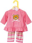 Zapf BABY born® Kleider Kollektion Dolly Moda Pyjama, Größe 38-46cm, ab 3 Jahren