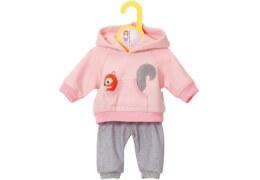 Zapf BABY born® Kleider Kollektion Dolly Moda Jogginganzug pink, Größe 30-36cm, ab 3 Jahren