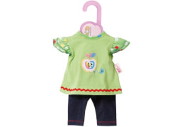 Zapf BABY born® Kleider Kollektion Dolly Moda Shirt mit Leggings, Gr. 30-36cm, ab 1 Jahr