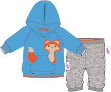 Zapf BABY born® Kleider Kollektion Dolly Moda Jogginganzug blau, Größe 38-46cm, ab 3 Jahren