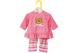 Zapf BABY born® Kleider Kollektion Dolly Moda Pyjama, Größe 30-36cm, ab 1 Jahr