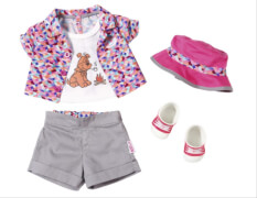Zapf BABY born® Play&Fun Deluxe Camping Outfit, ab 3 Jahren, mehrfarbig