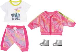 Zapf BABY born Deluxe Trendiges Pink Set 43 cm