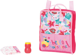 Zapf BABY born Holiday Wickelrucksack