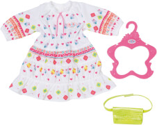 Zapf 830185 BABY born Trendy Boho Kleid 43 cm