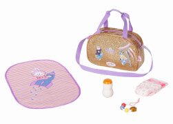 Zapf 831106 BABY born Happy Birthday Wickeltasche