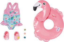 Zapf 831731 BABY born Holiday Schwimmspaß Set 43cm