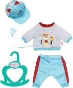 BABY born Little Sport Outfit blau 36 cm