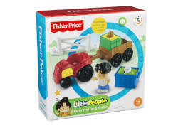 Mattel Fisher Price Little People Traktor & Anhänger