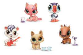 Hasbro Littlest Pet Shop Sammeltierchen A