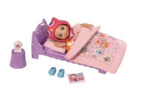 Zapf mini CHOU CHOU Birdies  Bett Set mit Emely