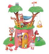 Zapf mini CHOU CHOU  Baumhaus-Set mit Puppe