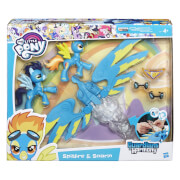 Hasbro B6011EU4 My Little Pony Guardians of Harmony Spitfire & Soarin