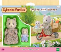 Sylvanian Families 4281 Sylvanian Families Fahrradfahren mit Mutter