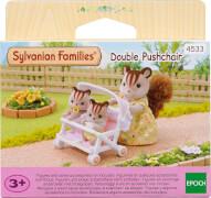 EPOCH Sylvanian Families 4533 Zwillingskinderwagen