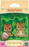 Sylvanian Families Walnuss Eichhörnchen Zwillinge
