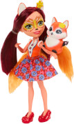 Mattel Enchantimals Fuchsmädchen Felicity Fox Puppe