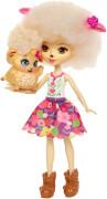 Mattel Enchantimals Schafmädchen Lorna Lamb Puppe