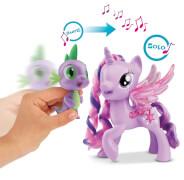 Hasbro C0718100 My Little Pony - Prinzessin Twilight Sparkle & Spike der Drache Singendes Duo, ab 3 Jahren