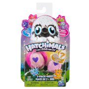 Spin Master Hatchimal Colleggtibles Serie II 2er-Pack + Nest