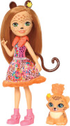 Mattel FJJ20 Enchantimals Gepardenmädchen Cherish Che