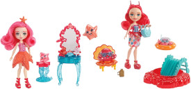 Mattel FKV58 Enchantimals Puppe + Meerestier, sortiert
