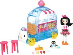 Mattel FKY58 Enchantimals Eiswagen