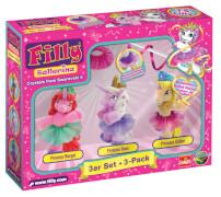 33240 Filly Pferdchen Ballerina 3er-Pack, sortiert