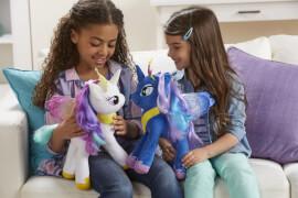 Hasbro E0034EU4 My Little Pony - Mähnenspaß Plüsch Prinzessinnen, ca. 30 cm, ab 3 Jahren