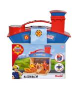 Simba Feuerwehrmann Sam - Wasserwacht inkl. 2 Figuren (Ben Hooper, Penny)