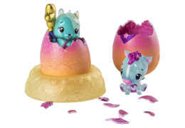 Spin Master Hatchimals Colleggtibles Serie IV 2er-Pack + Nest