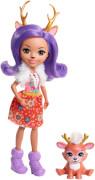 Mattel FNH23 Enchantimals Rehmädchen Danessa Puppe