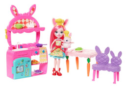 Mattel FRH47 Enchantimals Bree Bunny und Twist Küche