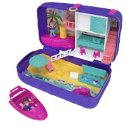 Mattel FRY40 Polly Pocket Hidden Places Strandspaß-Rucksack Spielset