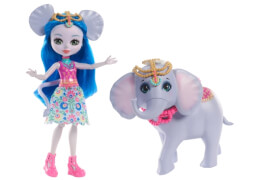 Mattel FKY73 Enchantimals Themenpack Ekaterina Elephant