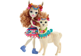 Mattel FRH42 Enchantimals Themenpack Lluella Llama & Fleecy