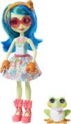 Mattel GFN43 Enchantimals Tamika Tree Frog & Burst