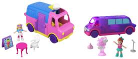 Mattel GGC39 Polly Pocket Pollyville Fahrzeug sortiert