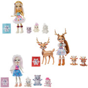 Mattel GJX43 Enchantimals Familien Sortiment