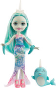 Mattel GJX41 Enchantimals Naddie Narwhal & Sword