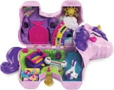 Mattel GVL88 Polly Pocket Einhorn-Party Spielset
