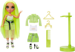 Rainbow High Fashion Doll- Karma Nichols (Neon)