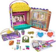 Mattel GVC96 Polly Pocket Un-Box-It Spielset
