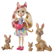Mattel GTM31 Enchantimals Kamilla Kangaroo Family