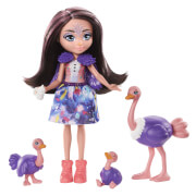 Mattel GTM32 Enchantimals Ofelia Ostrich Family