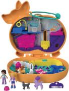 Mattel GTN13 Polly Pocket Corgi-Hundehotel Schatulle